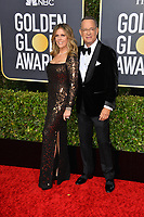 LOS ANGELES, USA. January 06, 2020: Tom Hanks & Rita Wilson arriving at the 2020 Golden Globe Awards at the Beverly Hilton Hotel.<br /> Picture: Paul Smith/Featureflash