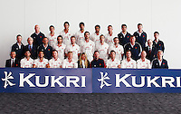 PICTURE BY VAUGHN RIDLEY/SWPIX.COM - Cricket - County Championship - Lancashire County Cricket Club 2012 Media Day - Old Trafford, Manchester, England - 03/04/12 - The Lancashire CCC players, coaches and management gather in The Point for the 2012 photo call.  Kukri sponsor.