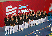 Picture by Allan McKenzie/SWpix.com - 16/12/2017 - Swimming - Swim England Nationals - Swim England Winter Championships - Ponds Forge International Sports Centre, Sheffield, England - Swim England's judge and volunteer's group picture.