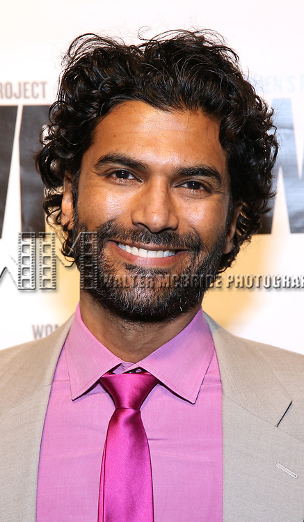 Sendhil Ramamurthy attends the WP Theater's 40th Anniversary Gala -  Women of Achievement Awards at the Edison Hotel on April 15, 2019  in New York City.