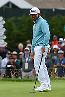 Louis Oosthuizen (RSA) reacts to barely missing his putt on 3 during round 4 of the 2019 US Open, Pebble Beach Golf Links, Monterrey, California, USA. 6/16/2019.<br /> Picture: Golffile | Ken Murray<br /> <br /> All photo usage must carry mandatory copyright credit (© Golffile | Ken Murray)