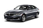 2016 BMW 3 Series 328i 5 Door Hatchback Angular Front stock photos of front three quarter view