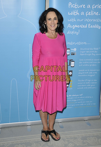 LONDON, ENGLAND - AUGUST 07: Lesley Joseph attends the National Cat Awards 2014, The Savoy Hotel, The Strand, on Thursday August 07, 2014 in London, England, UK. <br /> CAP/CAN<br /> &copy;Can Nguyen/Capital Pictures