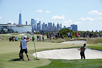 Kevin Na (USA) in action during the final round of the Northern Trust played at Liberty National Golf Club, Jersey City, USA. 11/08/2019<br /> Picture: Golffile | Phil INGLIS<br /> <br /> All photo usage must carry mandatory copyright credit (© Golffile | Phil INGLIS)