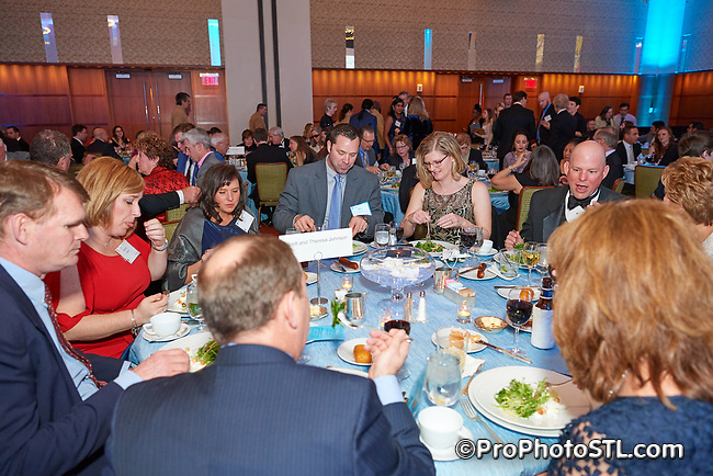 Asthma & Allergy Foundation St. Louis Chapter 2017 gala event at Four Seasons Hotel in St. Louis, MO on March 18, 2017.