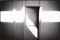 Light streak across doorway<br />