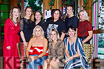 Liz Broderick Castleisland seated cente celebrated her 40th birthsay with her galpals in the Lane Bar Killarney on Saturday night