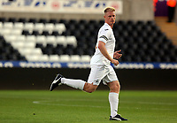 Alan Tate of Swansea in action during the Swansea Legends v Manchester United Legends at The Liberty Stadium, Swansea, Wales, UK. Wednesday 09 August 2017