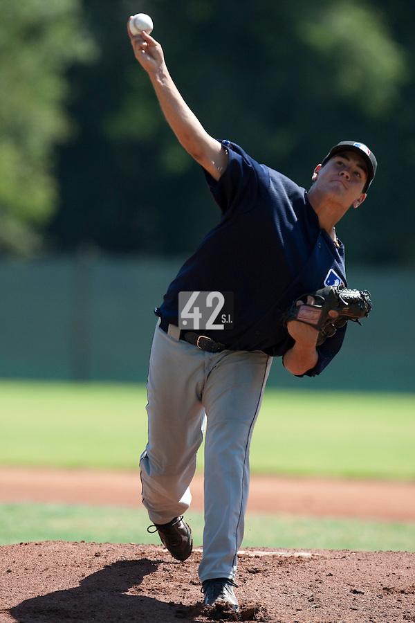 Baseball - MLB European Academy - Tirrenia (Italy) - 20/08/2009 - Oscar Jimenez (Spain)
