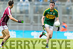 Mark Ryan Kerry in action against  Galway in the All Ireland Minor Football Final in Croke Park on Sunday.