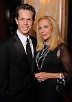 Dominic Walsh and Carolyn Farb at the Dominic Walsh Dance Theater's 10th Anniversary Season Gala at the Four Seasons Hotel Friday May 4,2012. (Dave Rossman Photo)