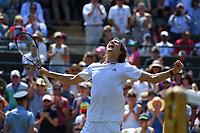 Alexander Zverev (Ger)<br /> Wimbledon 06-07-2018 Roland Garros <br /> Tennis Grande Slam 2018 <br /> Foto Panoramic / Insidefoto <br /> ITALY ONLY