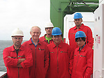 Crew of the Dutch Cargo Ship The MV Julia