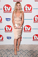 Tilly Keeper<br /> at the TV Choice Awards 2018, Dorchester Hotel, London<br /> <br /> ©Ash Knotek  D3428  10/09/2018