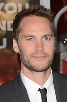 WESTWARD, CA - OCTOBER 8: Taylor Kitsch at the Only The Brave World Premiere at the Village Theater in Westwood, California on October 8, 2017. Credit: David Edwards/MediaPunch