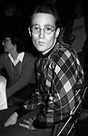 Marshall Crenshaw attend a party for Stereo Review Magazine on January 14, 1983 in New York City.
