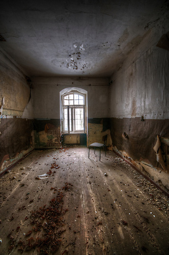 Old mental hospital somewhere near Berlin