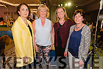 L-R Audrey O'Leary, Kay Moynihan, Aoife O'Leary and Mary O'Shea (all from Killarney) at the Cairde an Leigiun Designer Fashion Event at The Malton Hotel, Killarney last Friday night.
