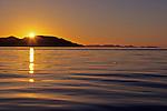Sunrise Over Cabeza De Caballo Island