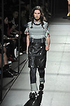 Spring/Summer 2014 Collection of Japanese fashion brand FACETASM on October 18, 2013, in Tokyo.