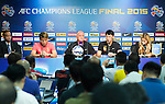 Guangzhou Evergrande press conference ahead their AFC Champions League Final Match 1st Leg against Al Ahli at the Al-Rashid Stadium on 6 November 2015 in Dubai, United Arab States. Photo by Victor Fraile / Power Sport Images