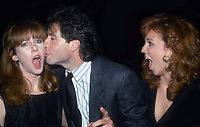 #LaraineNewman #JohnTravolta #MariluHenner 1985<br /> Photo By Adam Scull/PHOTOlink.net