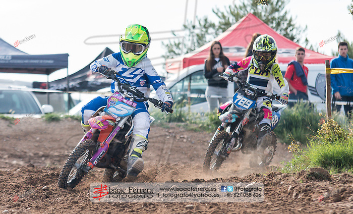 XVII Viver Enduro.<br /> Pequenduro.<br /> Peñas Rubias - La Chana circuit.<br /> April 23, 2017.<br /> Viver, Castellon - Spain.