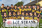HOSTS: The Austin Stacks team who hosted the Lee Strand Football Tournament at Connolly Park, Tralee on Saturday front l-r: Cathal O'Reilly, Dylan Hennebery, Louis Ryle, Rory Hill, Shane O'Neill, Anthony Lonergan, Kevin Murphy and Oisin Fitzgerald. Back l-r: Jack Morgan, Philip Quilter, Calvin Foley, Colin Griffin, Daniel Teahan, Dara Scanlon, Mike O'Donnell, Connor O Nualain, Darren Bastible and Sean Fitzmaurice.