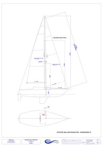 Yamaha 36 Ireland Rig and Sail