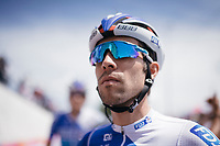 Thibaut Pinot (FRA/FDJ) at the stage start in the tiny birth town of Fausto Coppi: Castellania<br /> <br /> 100th Giro d'Italia 2017<br /> Stage 14: Castellania &rsaquo; Oropa (131km)