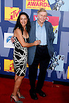 LOS ANGELES, CA. - September 07: Viacom Executive Chairman Sumner Redstone and wife Paula arrive at the 2008 MTV Video Music Awards at Paramount Pictures Studios on September 7, 2008 in Los Angeles, California.