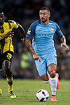 Manchester City defender Aleksandar Kolarov (r) during the match against Borussia Dortmund at the 2016 International Champions Cup China match at the Shenzhen Stadium on 28 July 2016 in Shenzhen, China. Photo by Victor Fraile / Power Sport Images