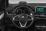 Car pictures of steering wheel view of a 2018 BMW bmw 2activetourluxmv1fb 5 Door Mini Van