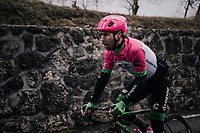 Mitchell Docker (UAS/Education First-Drapac)<br /> <br /> 76th Paris-Nice 2018<br /> Stage 7: Nice &gt; Valdeblore La Colmiane (175km)