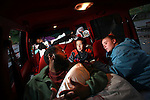 Jack and Malinda Word and their three children ,Teyerah,12, Jack,7, and Trynique,3,slept in their Ford Explorer for three months before finding a homeless shelter in Portland recently..Photo by Jaime Valdez
