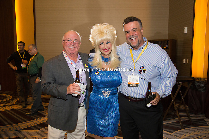 Oepning reception of the 2014 NWFA Expo Wednesday, April 16, 2014 in Nashville, Tennessee. (Photo by David Stluka)