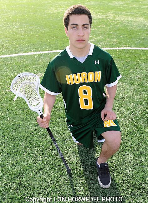 Huron High School boy's varsity lacrosse team.