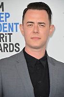 Colin Hanks at the 2017 Film Independent Spirit Awards on the beach in Santa Monica, CA, USA 25 February  2017<br /> Picture: Paul Smith/Featureflash/SilverHub 0208 004 5359 sales@silverhubmedia.com