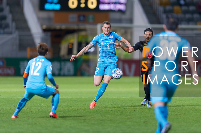 Kitchee SC vs Kaya FC during their Group Stage Match Day 1 of the AFC Cup 2016 on 23 February 2016 at the Mong Kok Stadium in Hong Kong, China. Photo by Juan Manuel Serrano / Power Sport Images