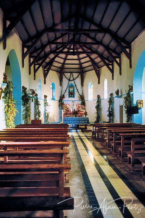 Ouvéa, église de Mouli