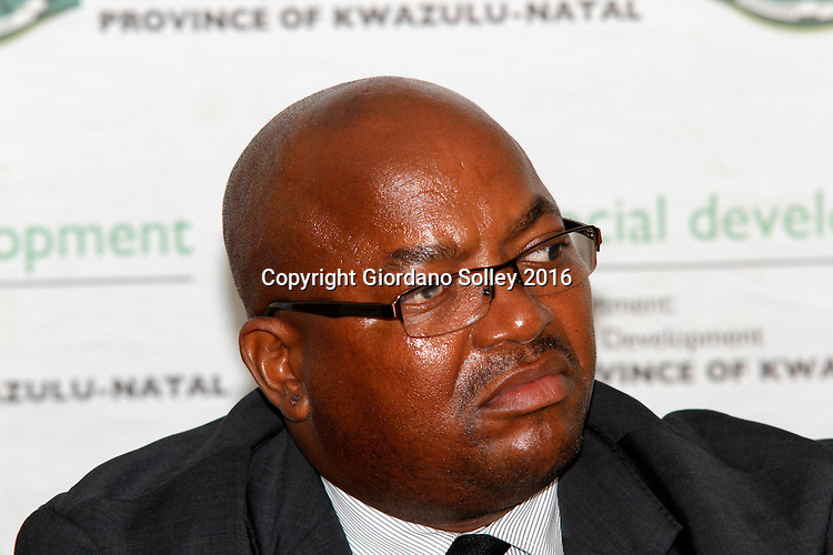DURBAN - 15 March 2016 - Mxolisi Ngcongo the general manager in charge of the KwaZulu-Natal Department of Social Development's human resources at a press conference where the media was on a R19 million fraud case at one of the department's offices near Empangeni.  Picture: Allied Picture Press/APP