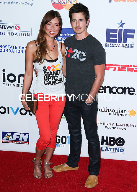 HOLLYWOOD, LOS ANGELES, CA, USA - SEPTEMBER 05: Mei Melancon, Craig Olejnik arrive at the 4th Biennial Stand Up To Cancer held at Dolby Theatre on September 5, 2014 in Hollywood, Los Angeles, California, United States. (Photo by Xavier Collin/Celebrity Monitor)