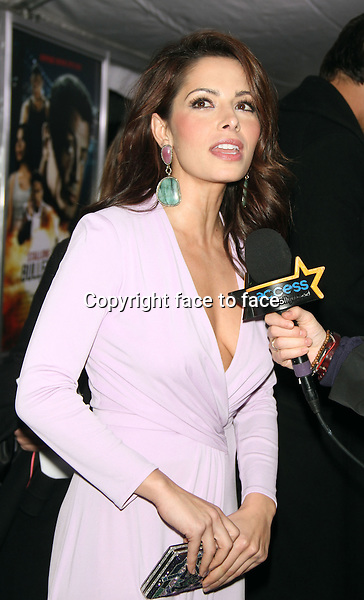Sarah Shahi at the US film premiere of Warner Bros. Pictures Bullet To The Head at AMC Lincoln Square in New York City. January 29, 2013. ..Credit: MediaPunch/face to face..- Germany, Austria, Switzerland, Eastern Europe, Australia, UK, USA, Taiwan, Singapore, China, Malaysia and Thailand rights only -