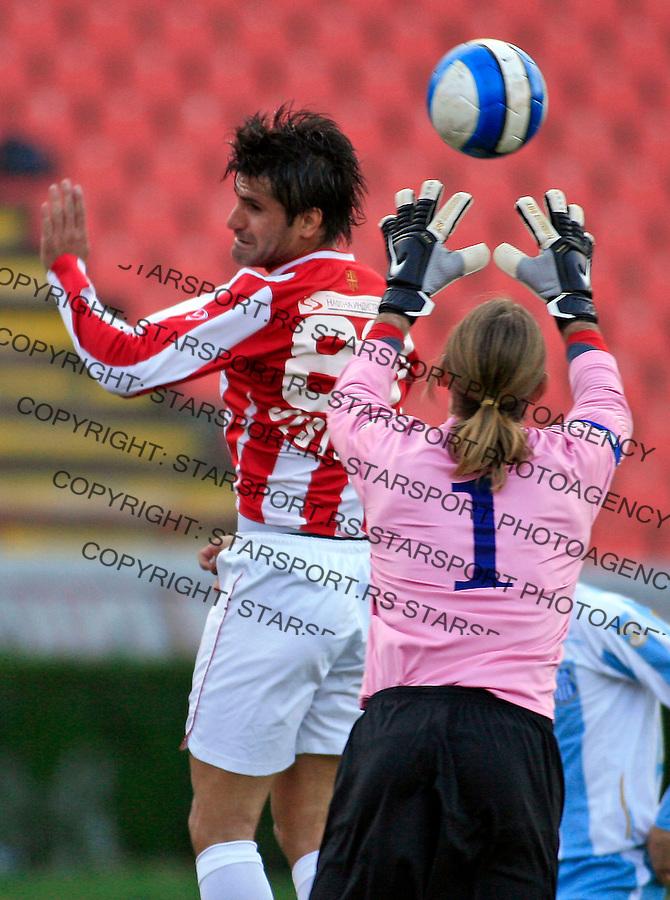 Sport Fudbal Crvena Zvezda OFK Beograd Belgrade Serbia Meridian Super Liga  Nenad Jestrovic 15.3.2008. photo: Pedja Milosavljevic