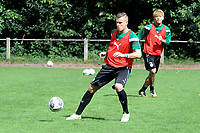 MARIENHOF - Voetbal, Trainingskamp FC Groningen , seizoen 2017-2018, 13-07-2017, FC Groningen speler Samir Memisovic