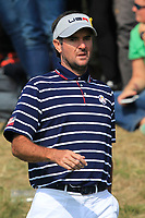 Bubba Watson (Team USA) on the 3rd tee during the Friday Foursomes at the Ryder Cup, Le Golf National, Ile-de-France, France. 28/09/2018.<br /> Picture Thos Caffrey / Golffile.ie<br /> <br /> All photo usage must carry mandatory copyright credit (&copy; Golffile | Thos Caffrey)