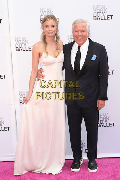 NEW YORK, NY - SEPTEMBER 20: Ricki Lander and Robert Kraft attend  New York City Ballet 2016 Fall Gala at David H. Koch Theater on September 20, 2016 in New York City. <br /> CAP/MPI99<br /> &copy;MPI99/Capital Pictures