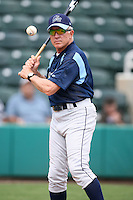 April 12, 2009:  Manager Jim Morrison of the Charlotte Stone Crabs, Florida State League Class-A affiliate of the Tampa Bay Rays, during a game at Hammond Stadium in Fort Myers, FL.  Photo by:  Mike Janes/Four Seam Images