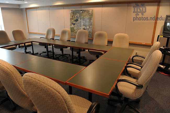 Notre Dame Facilities Building conference room...Photo by Matt Cashore/University of Notre  Dame..