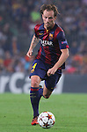 21.10.2014 Barcelona, Spain. UEFA Champions League matchday 3 Group 3. Picture show  Ivan Rakitic in action during game between FC Barcelona against Ajax at Camp Nou
